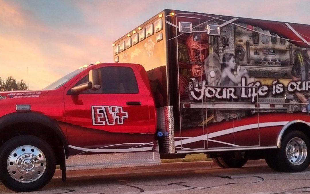 Your Life is Our Life – EMS Full Wrap